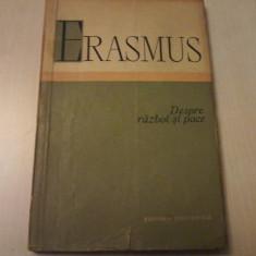 ERASMUS DIN ROTTERDAM - DESPRE RAZBOI SI PACE - Filosofie