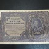 1000 marek 1919 xf ++ polonia
