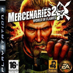 Mercenaries 2 - World in flames  - PS3 [Second hand], Actiune, 16+, Single player
