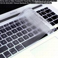 Husa de protectie pt tastatura US Macbook Pro Air Retina 13 15 17 mac - CLEAR