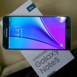 Samsung Note 5, liber retea, full, folie fata spate - Telefon Samsung, Negru, 32GB, Neblocat, Single SIM