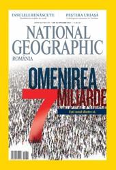 national geographic romania nr. 1 ,11,12,12  2011    7lei/exemplar