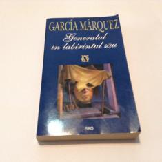Generalul in labirintul sau - GABRIEL GARCIA MARQUEZ, RF7/3 - Roman, Anul publicarii: 1996