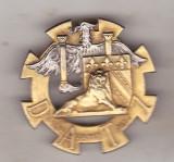 Bnk ins Franta - Insigna regiment - artilerie - COMMANDEMENT DE DAT 7°RM, Europa