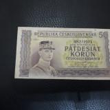 50 korun 1945 Cehoslovacia  xf !!