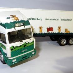 HERPA ( AWM ) IVECO transport frigorific Loblein 1:87 - Macheta auto