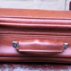 Gemantan din piele - Geanta vintage