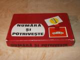 JOC VECHI ROMANESC * '' NUMARA SI POTRIVESTE '' - I.P. BANAT - 1977