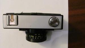 CI - Aparat foto film VILIA nefunctional cu husa fabricat URSS Rusia