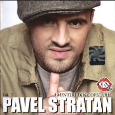 Pavel Stratan – Aminitiri Din Copilărie Vol. 2 (1 CD) - Muzica Folk cat music