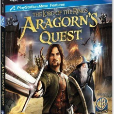 The Lord of the rings - Aragon s Quest - PS3 [Second hand], Actiune, 12+, Multiplayer