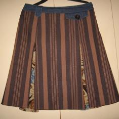 Fusta superba Vila Clothes Mar 40/ 42, Culoare: Multicolor, Midi