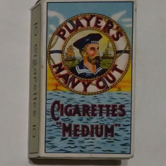 Navy Cut John Player & Sons - Pachet de Tigari Vechi anii 1930-1940, nefolosit - Pachet tigari
