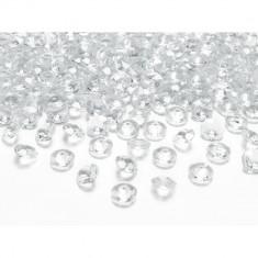 Cristale diamant, Transparent, 100 buc