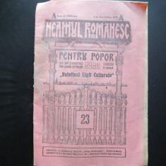 Revista Neamul Romanesc ( Nicolae Iorga, despre Basarabia ) Nr. 23 , 1935