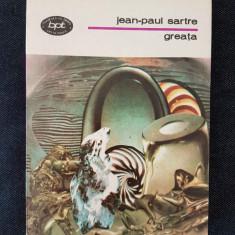 Greata - Jean-Paul Sartre - Carte de aventura