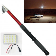 Lampa lucru / pescuit LED extensibila 4.5m 200w ALBA cu telecomanda AL-261017-17 - Lampa cu LED Service