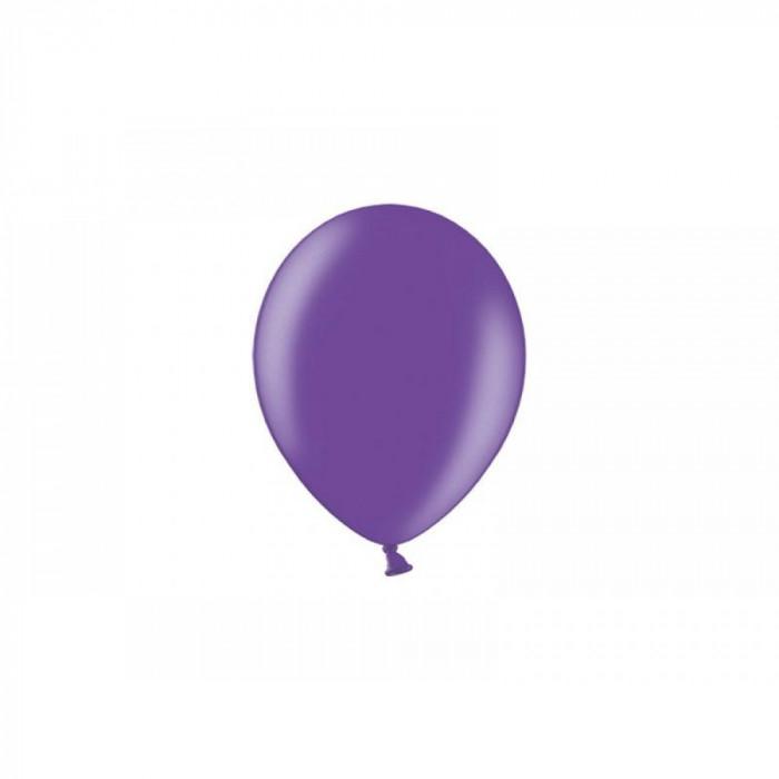 Set 100 de baloane rotunde standard, 26 cm, mov