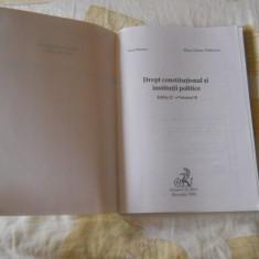 Drept constitutional si institutii politice- Ioan Muraru Tanasescu 2006 vol.2 - Carte Drept constitutional