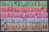 SUA  1940  personalitati  americane  MI 455-489  MNH/MLH   w47, Nestampilat