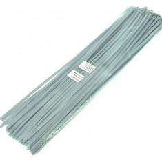 Coliere plastic 400 X 4.8 mm gri 100 BUC. AL-261017-11