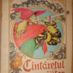 Cantaretul vrajitor ( ilustratii Livia Rusz )an 1982/22pag. - Robert Browning - Carte poezie copii