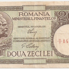 ROMANIA 20 LEI 1947, 1948, 1950 AXF SIGN LUCA, CIOBANU - Bancnota romaneasca
