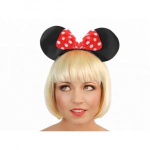 Coronita cu urechi Minnie Mouse
