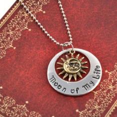 Pandantiv Medalion Lantisor Game of Thrones Khal & Khaleesi