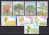 Malawi  1979/81   flori  copaci  2 serii  MNH  w47, Nestampilat