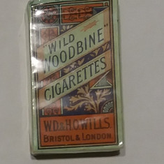 Wild Woodbine - Pachet de Tigari Vechi anii 1915-1945, nefolosit. Pt armata engl - Pachet tigari