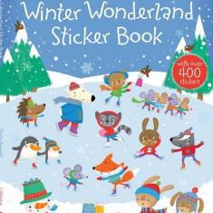 Winter Wonderland Sticker Book - Carte Usborne (5+) - Carte educativa