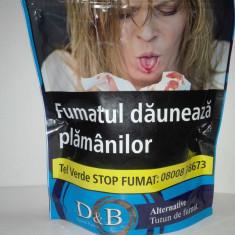 Tutun D&B Alternative 100 g pentru foite rulat sau tuburi injectat - Tutun Pentru tigari de foi
