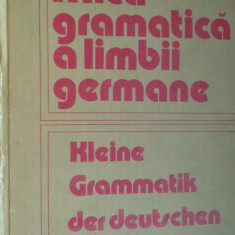 Mica gramatica a limbii germane an 1985/440pag/cartonata- Emilia Savin - Curs Limba Germana