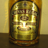 whisky  chivas regal 12 ani, PREMIUM SCOTCH WHISKY, cl 70 GR 40 ANI 2000