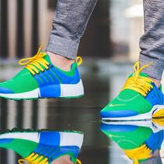 Adidasi barbati 100 % originali NIKE AIR PRESTO, Marime: 45, Culoare: Din imagine, Textil
