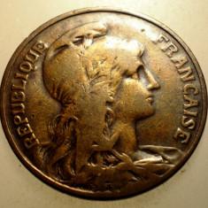 2.929 FRANTA 10 CENTIMES 1903, Europa, Bronz