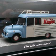 """Macheta Opel Blitz 1,75t """"Krone Circus"""" - Premium Classixxs 1/43"""