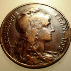 2.931 FRANTA 10 CENTIMES 1908, Europa, Bronz