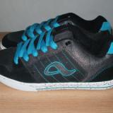 Skate / skateboard / skater shoes / adidasi / tenisi negri Adio din piele