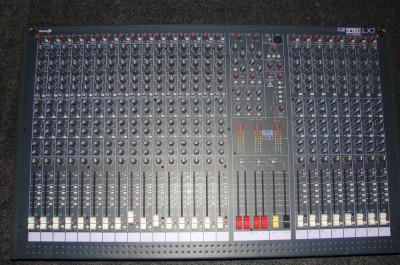 mixer profesional SOUNDCRAFT SPIRIT LX7, 24 CANALE, 7 BUS foto