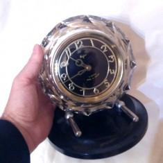 CEAS MASA RUSWSC CRISTALMAJAK 11JUWELES MADE IN USSR REVIZIE CEASORNICAR - Ceas de masa
