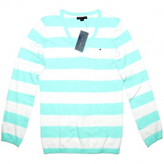 Bluza TOMMY HILFIGER Classic - Pulover, Bluze Dama, Femei - 100% AUTENTIC - Bluza dama Tommy Hilfiger, Marime: S, Culoare: Din imagine, Maneca lunga, Office, Bumbac