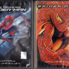 Uimitorul Om-Păianjen 1 - 2 - Film SF columbia pictures, DVD, Romana