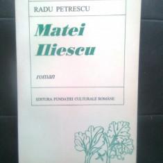 Radu Petrescu - Matei Iliescu (Editura Fundatiei Culturale Romane, 1996)