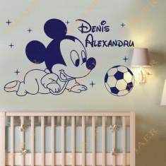 Sticker - Mickey Baby  *Text Personalizat*