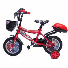 Bicicleta copii UMIT Racer, culoare Rosu, roata 12