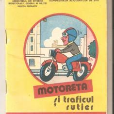 Motoreta si traficul rutier - Carte educativa
