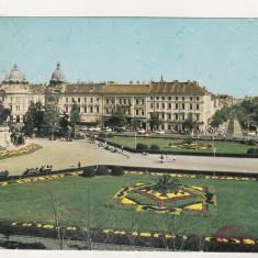 Bnk cp Cluj Napoca - Piata Libertatii - necirculata - Carte Postala Transilvania dupa 1918, Printata