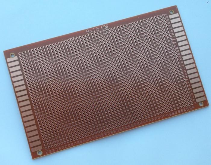 Placa test PCB 9 x 15 cm ( one side ) prototip / prototype Arduino